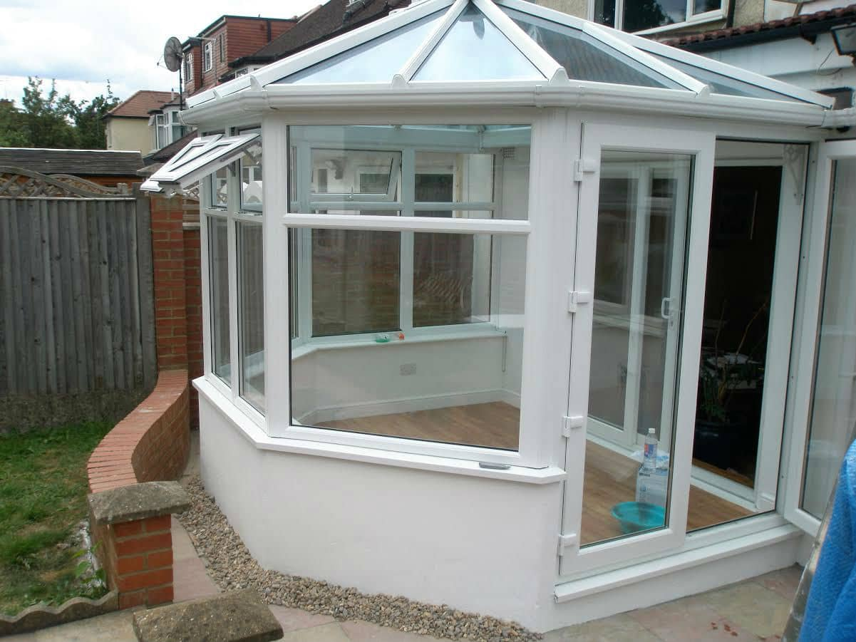 Hipped Back Victorian Conservatory