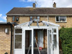 Edwardian conservatory build