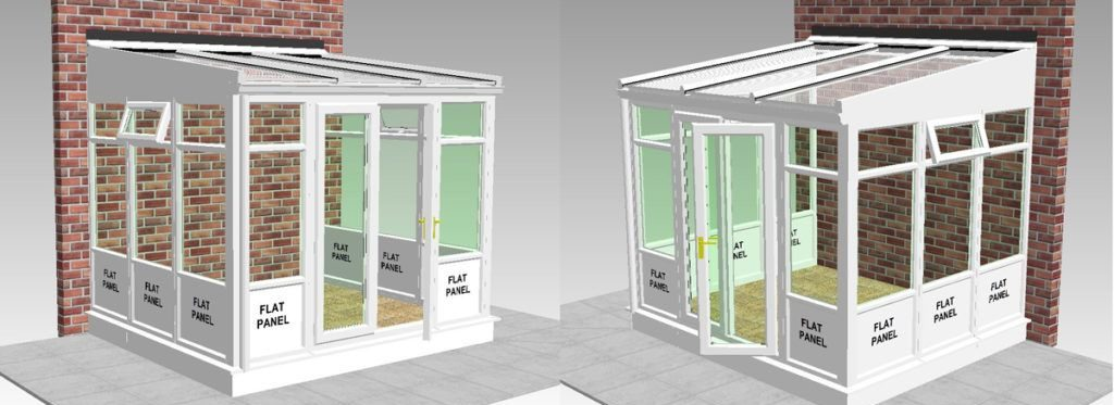 lean to conservatory plans