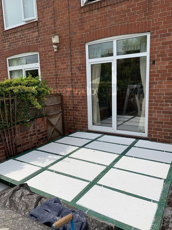 lean to conservatory yorkshire base construction